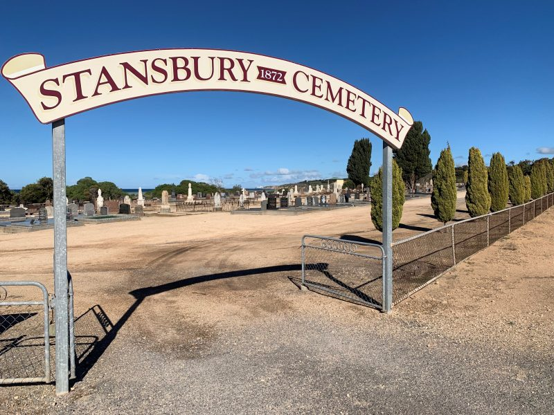 Stansbury Cemetery - Entrance
