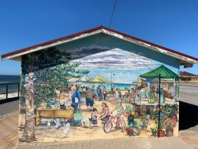Stansbury Foreshore Mural - Seaside Markets