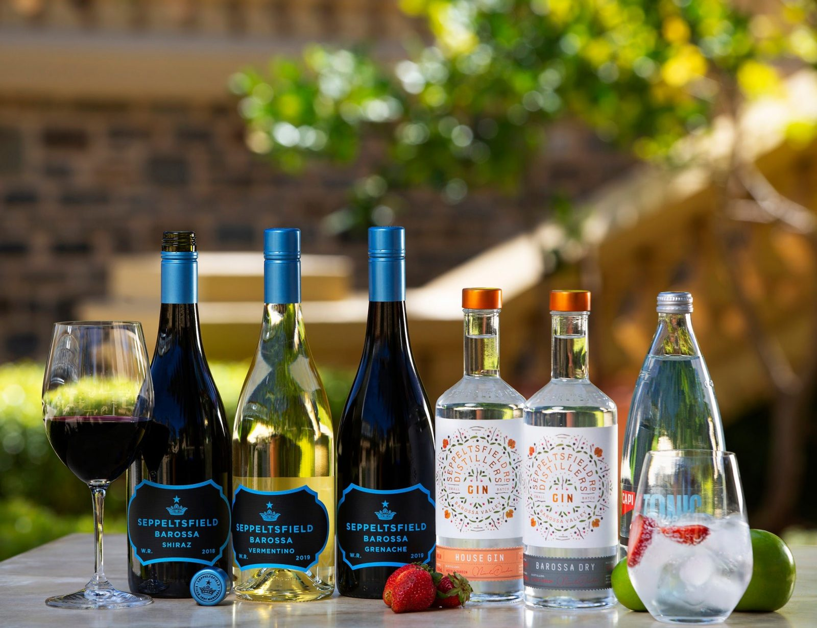 Stay at Home with Seppeltsfield Pack - Barossa Wine & Barossa Gin