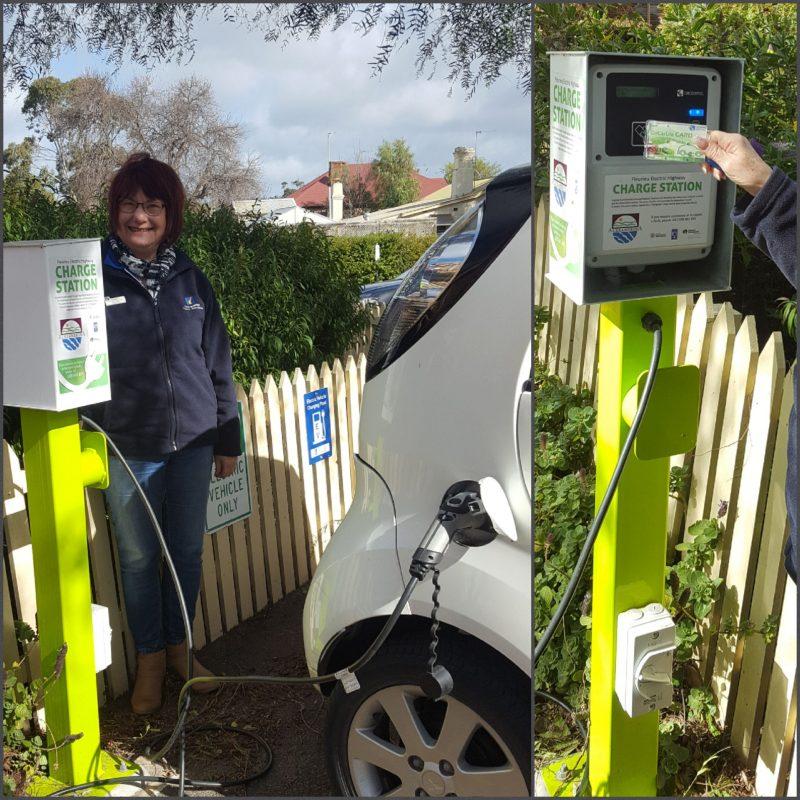 Electric Car Charging Station Strathalbyn VIC