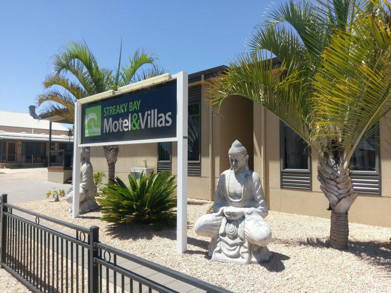 Front of the Streaky Bay Motel& Villas
