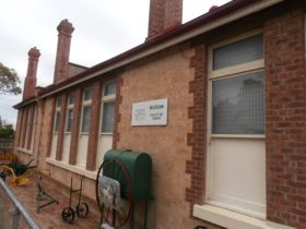 Streaky Bay museum displays various collections including the 'Both Iron Lung' .