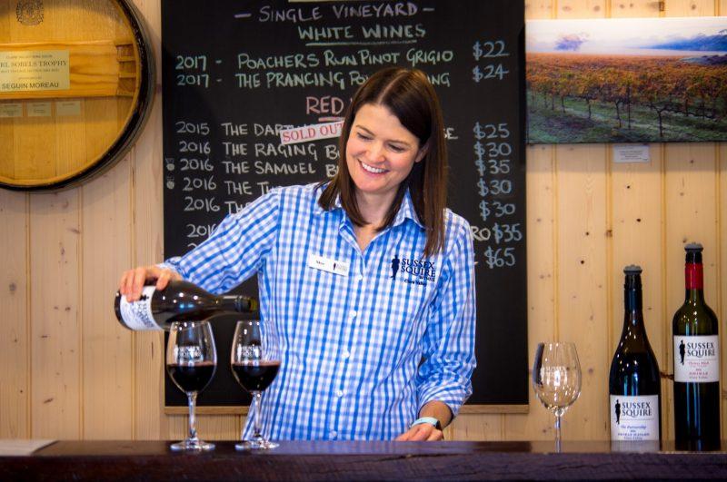 Sussex Squire Wines Premium Wine Tasting and Vineyard Tour