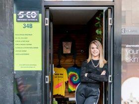 Sustainable Clothing co vintage streetwear Adelaide CBD
