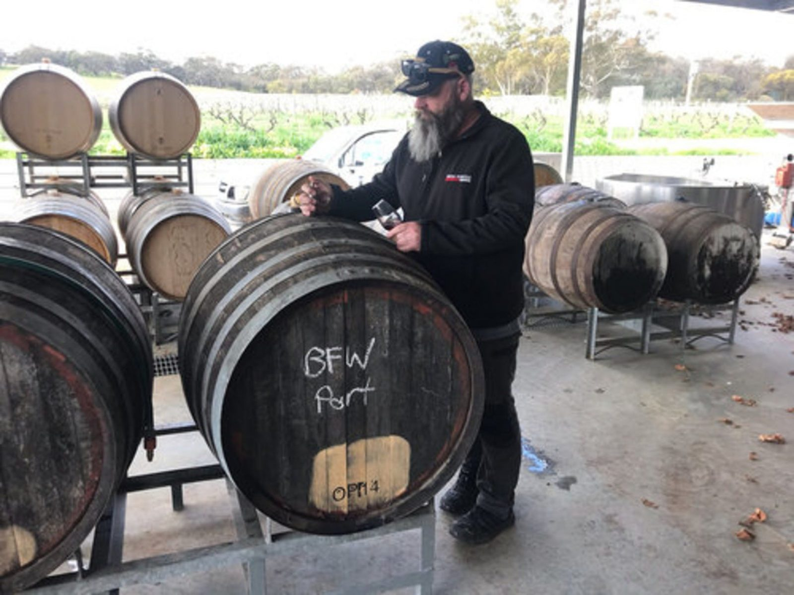 This Blending Experience reveals how our Barossa Tawny is made, from vineyard to bottle.