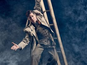 The 39 Steps. Photo by James Hartley