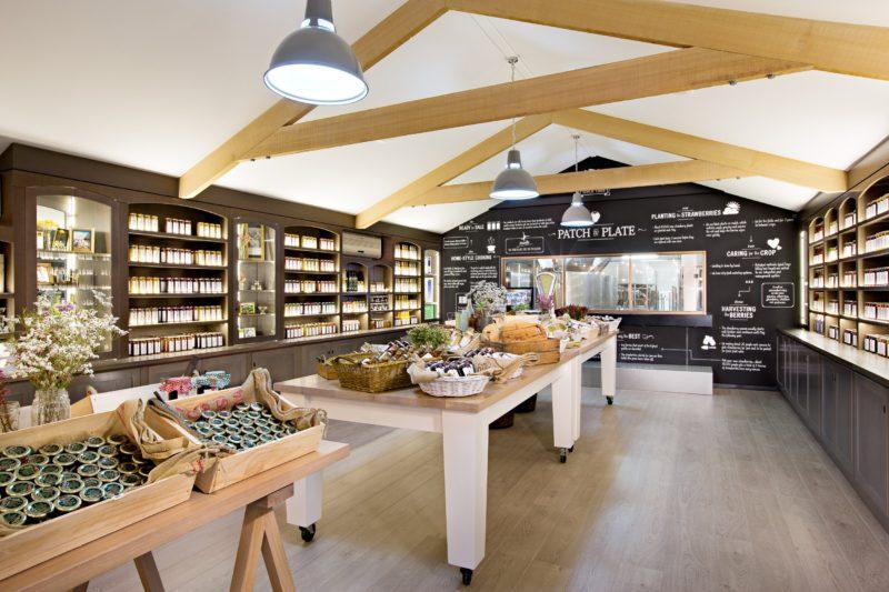 Beerenberg Farm Shop Interior