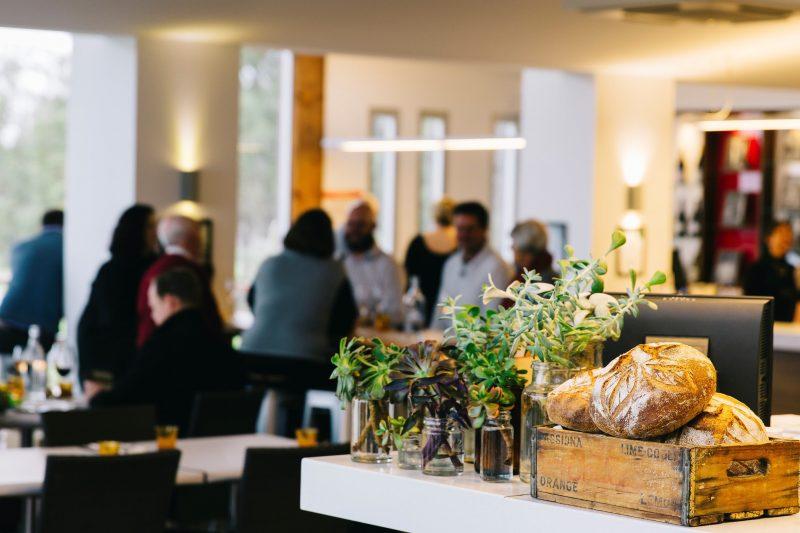 The dining & tasting room at Artisans of Barossa & Harvest Kitchen