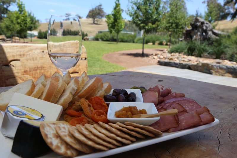 A Barossa platter with a view at Thorn Clarke