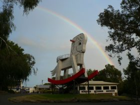 The Big Rocking Horse