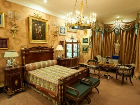 David Roche's bedroom