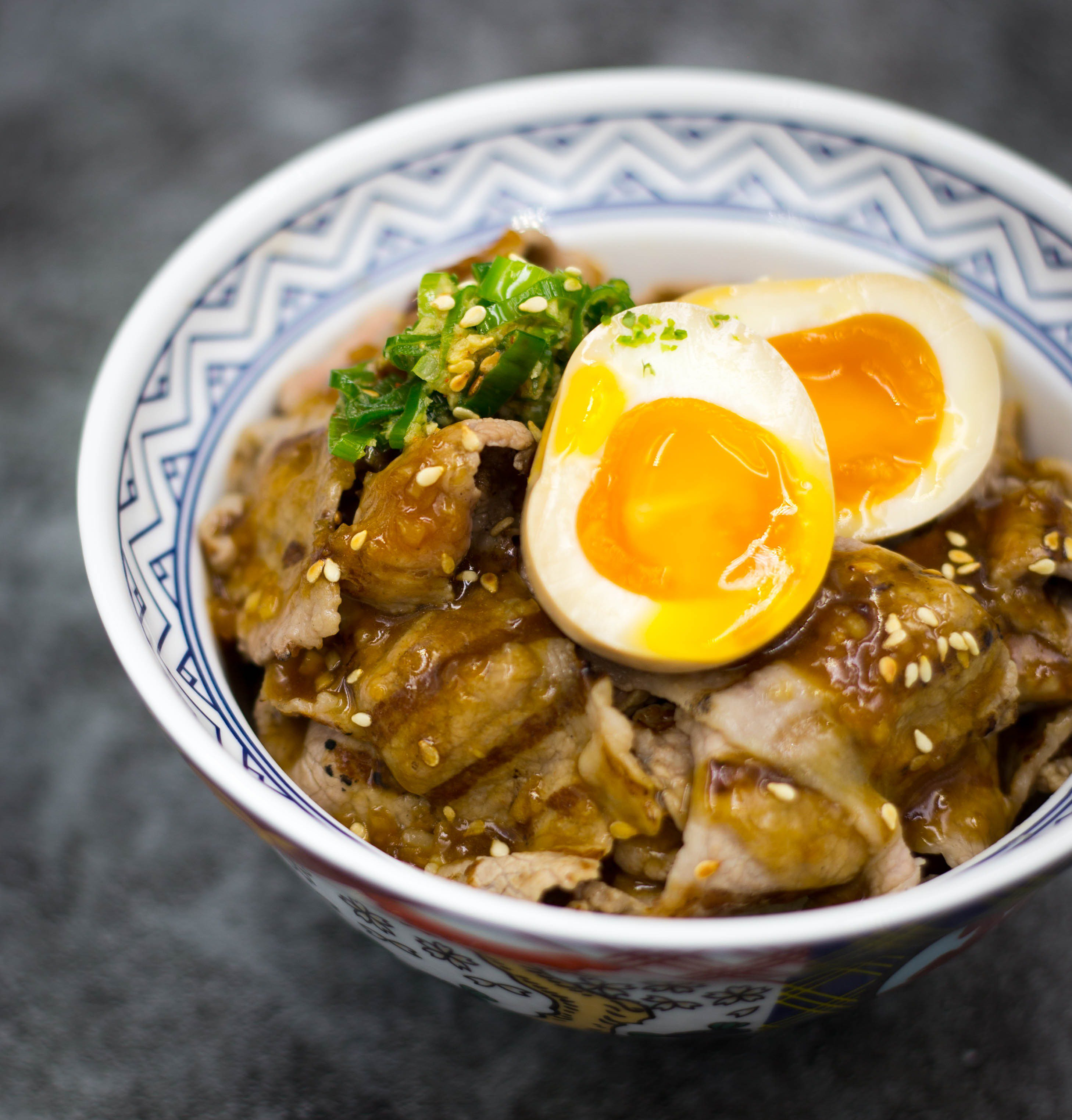 Grilled Beef Donburi