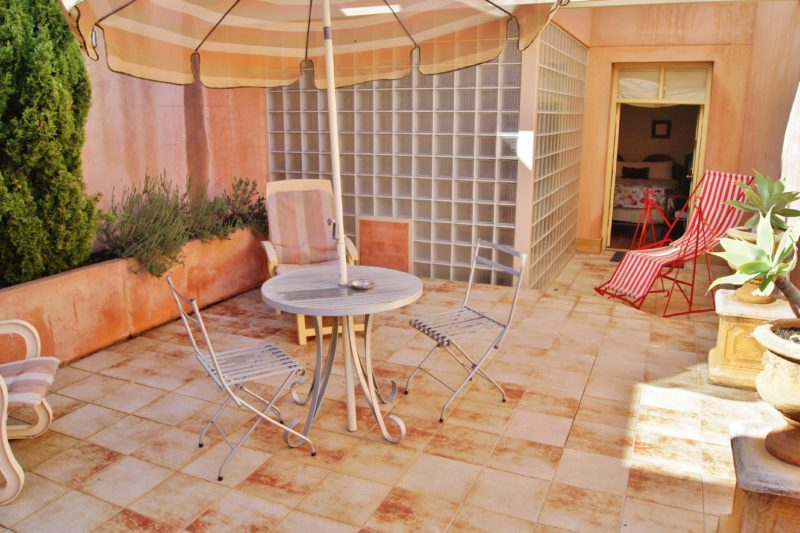 Loggia Spa Suite with private courtyard