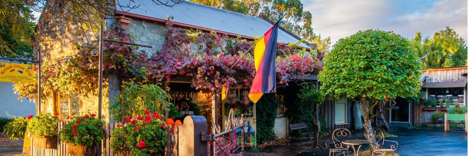 The German Village Shop located in Hahndorf, South Australia. A must see for visitors of Adelaide