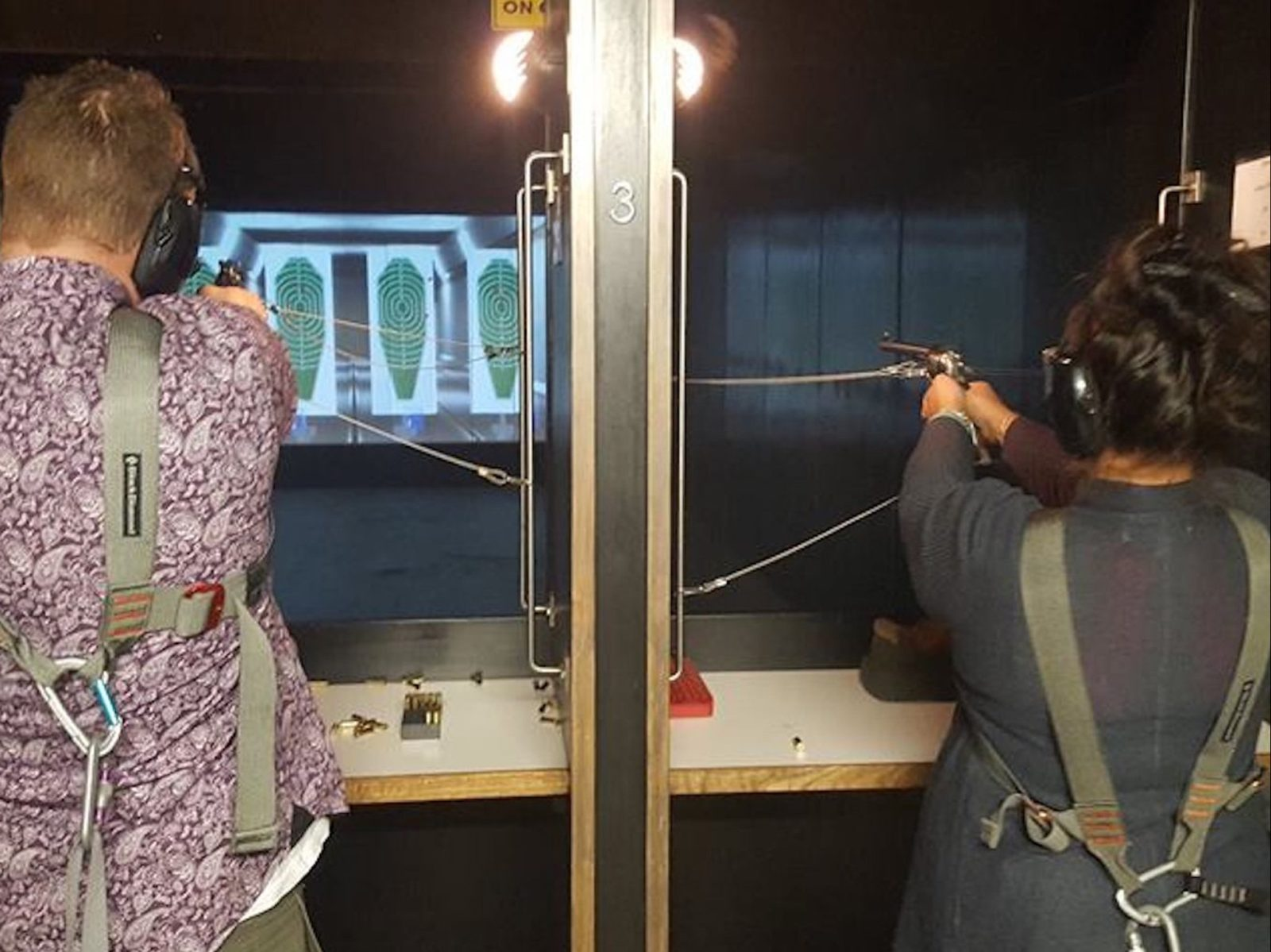the gunnery shooting range