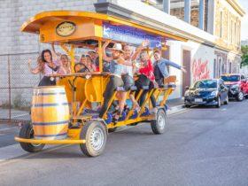 Australias 16 person Pedal Pub