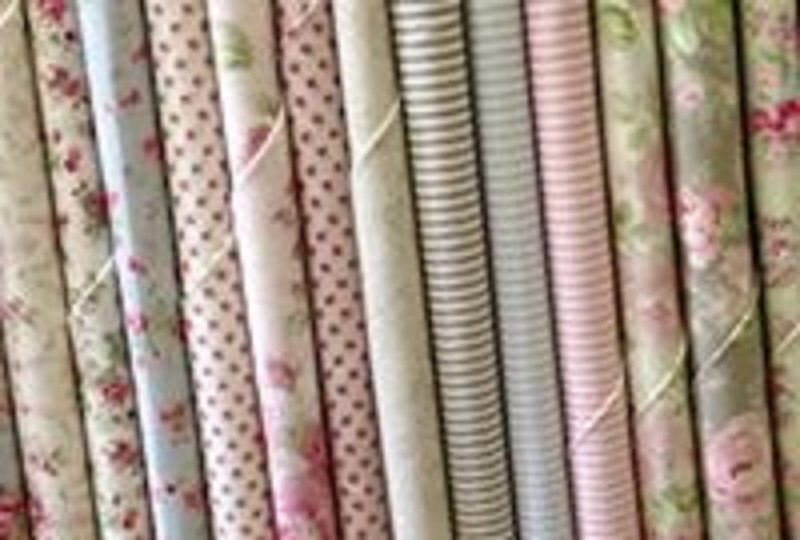 small selection pretty fabric available