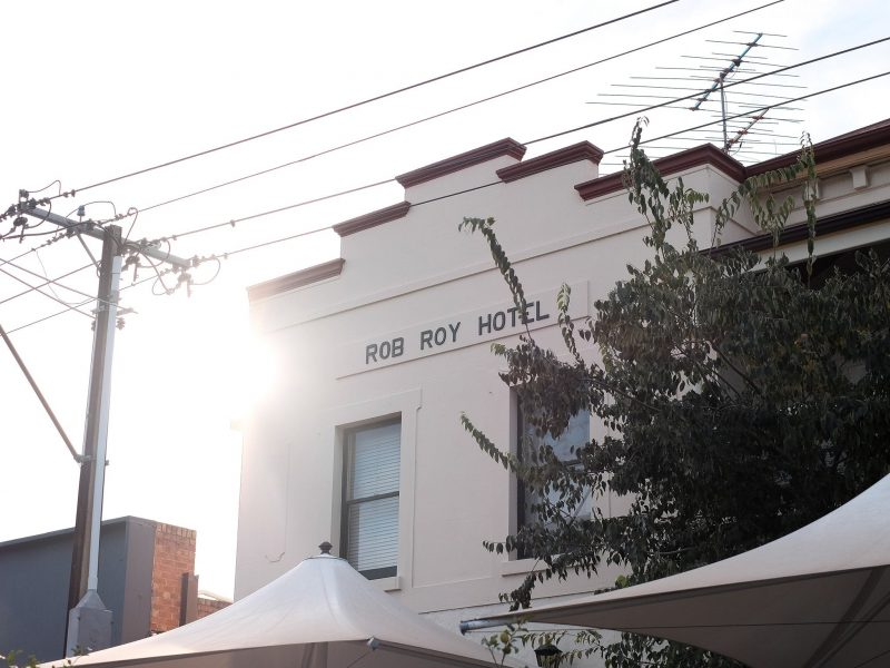 The Rob Roy Hotel.