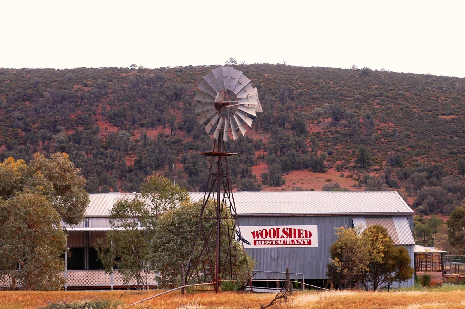 The Woolshed Restaurant, Wilpena Pound, Flinders Ranges, South Australia