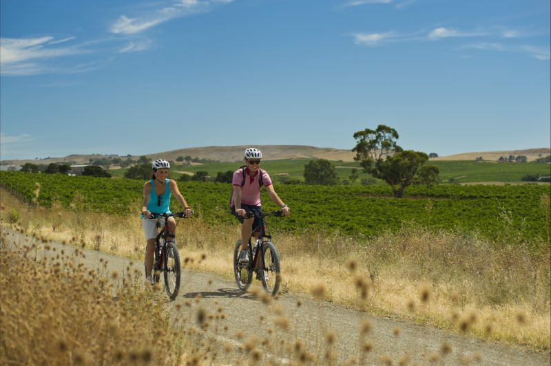Cycling the Riesling Rail Trail in South Australia