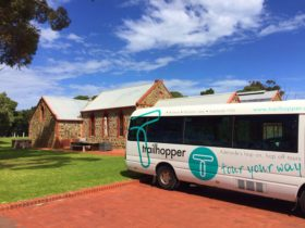 TrailHopper bus, Hop on Hop Off Wine Tour, Trail Hopper