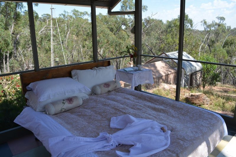 Amazing - our Summer feature is the opportunity to sleep bug free under the stars on warm nights.