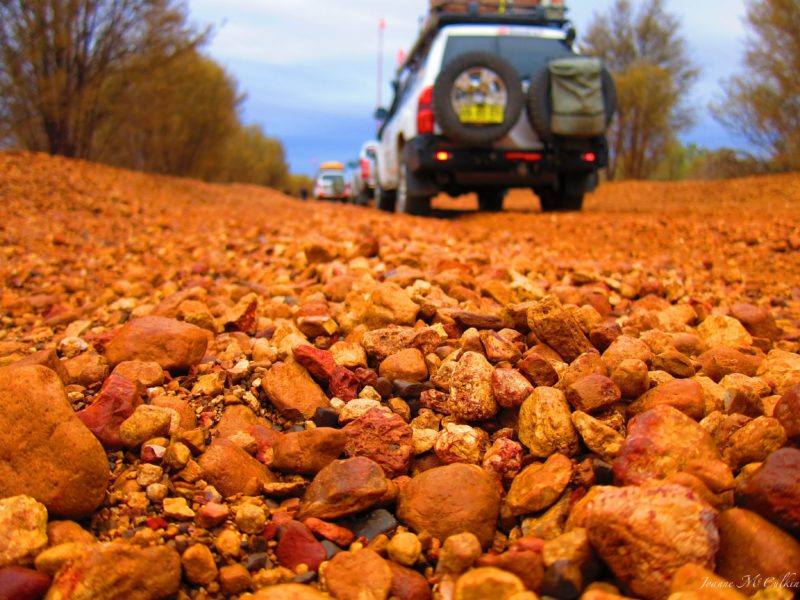Red Outback roads