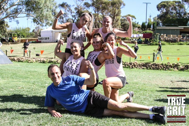 south australia true grit obstacle course race group fitness