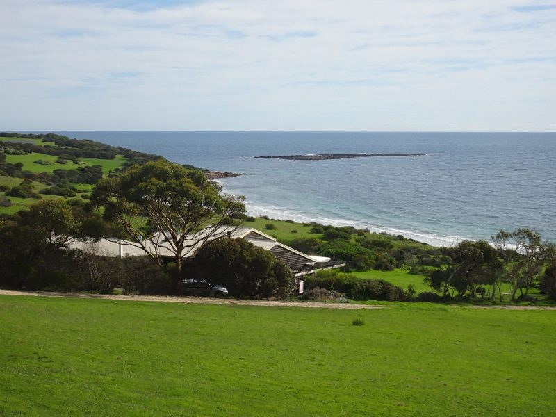 3 acres in a quiet rural setting by the beach.