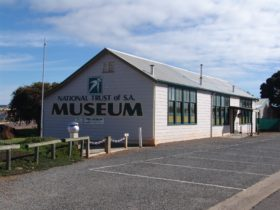 The Tumby Bay Museum is housed in a circa 1950's pre-fabricated school building.