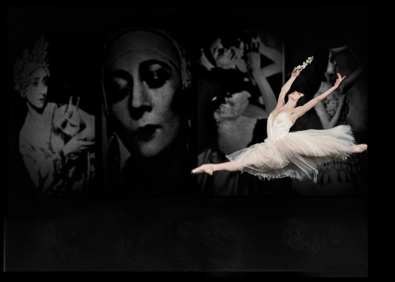 Natalia Osipova leaps across the stage