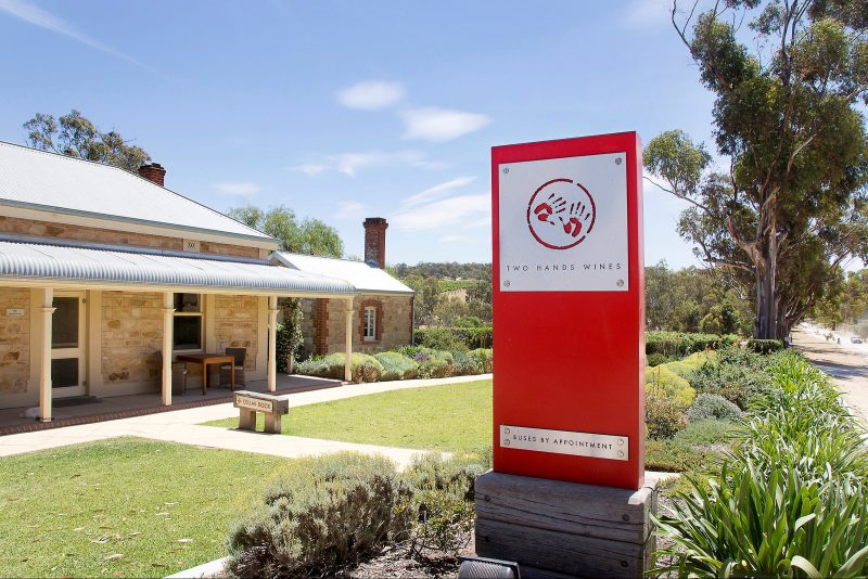 Front of Cellar Door