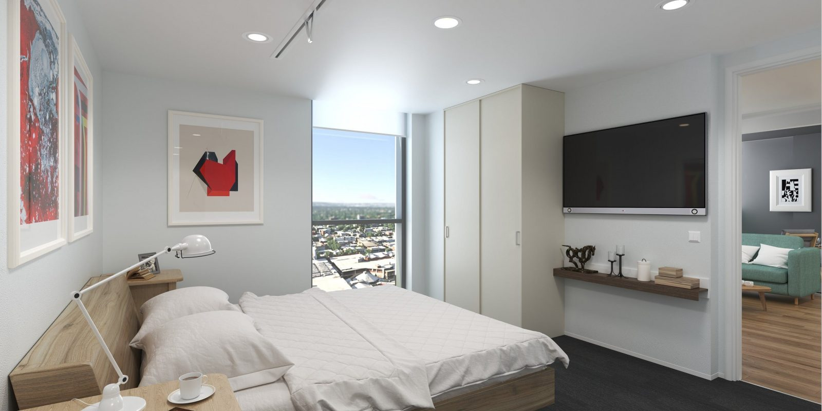 U City Accessible Serviced Apartments - bedroom