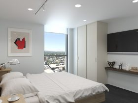 U City Accessible Serviced Apartments - bedroom