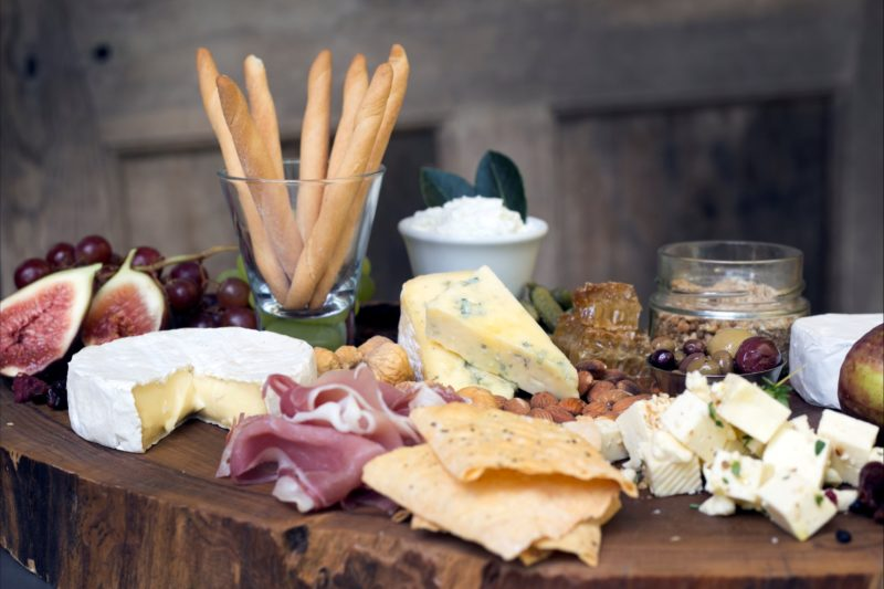 Grazing Boards of our cheese and local produce