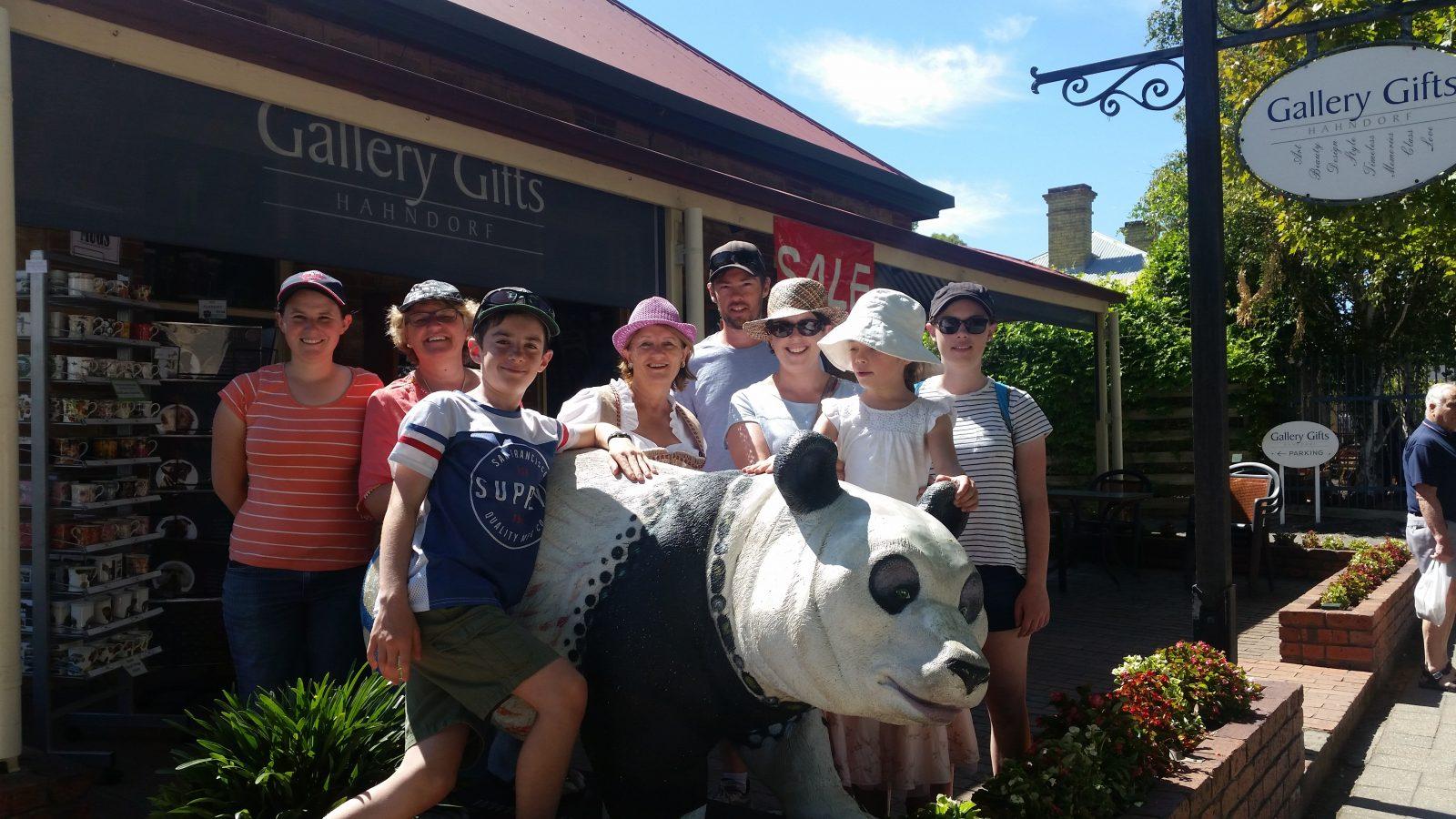 Walking Tour with Panda
