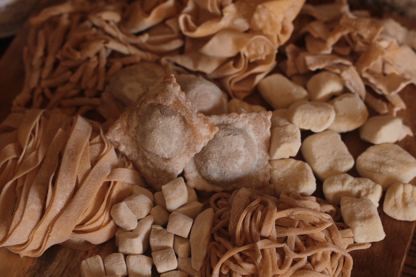 fresh homemade pasta and more