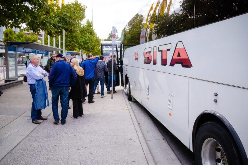 SITA Coach Boarding