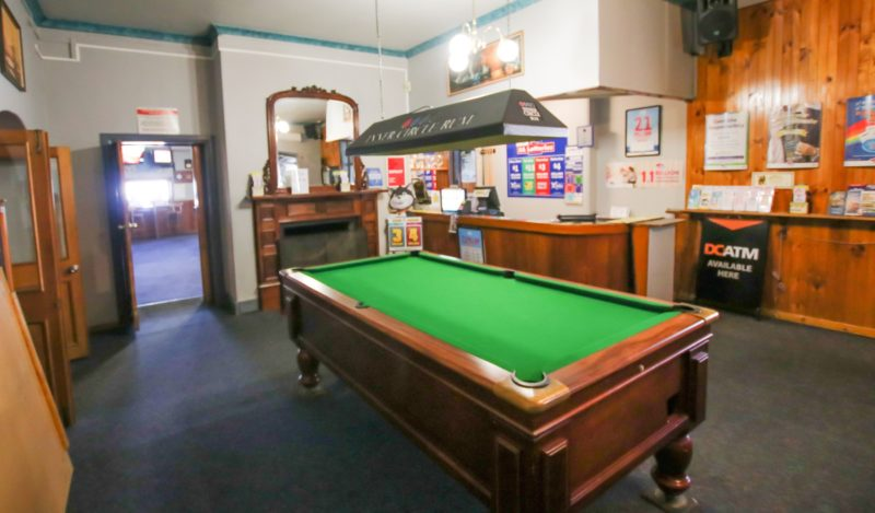 With Pool table and Kids Play room