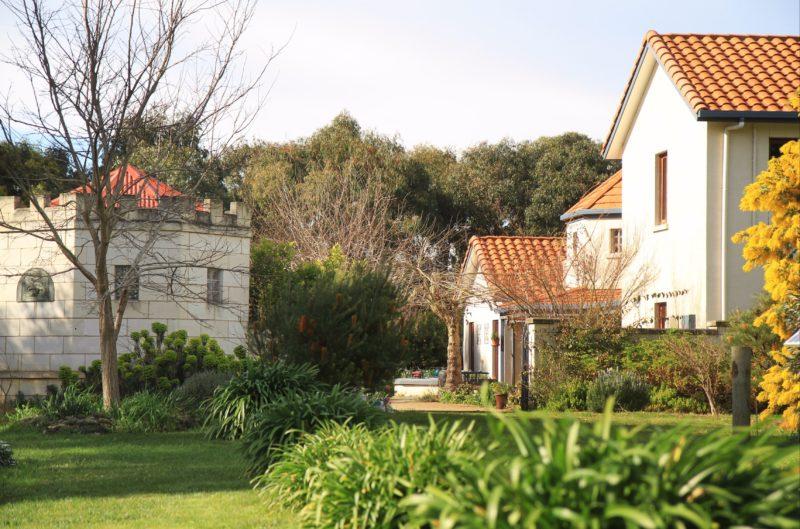Villa Mont guest entrance