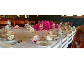 Vintage High Tea Setting