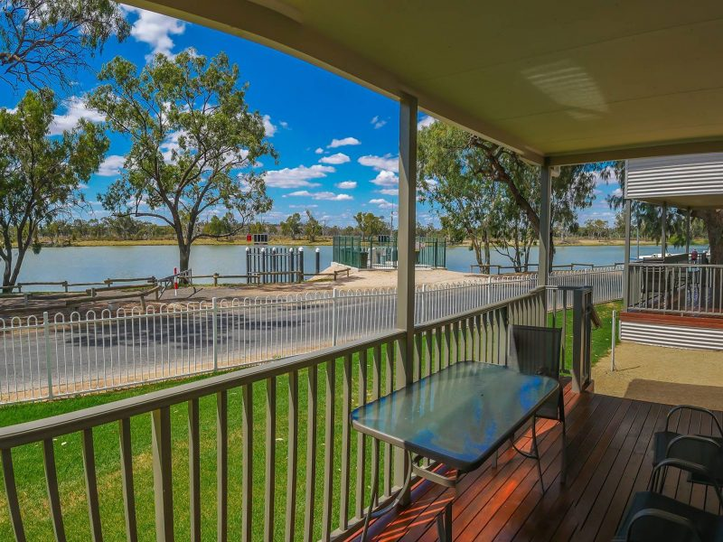 Absolute riverfront views from your doorstep