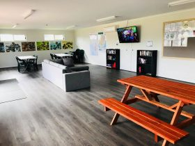 Recreation room, full of fun and games