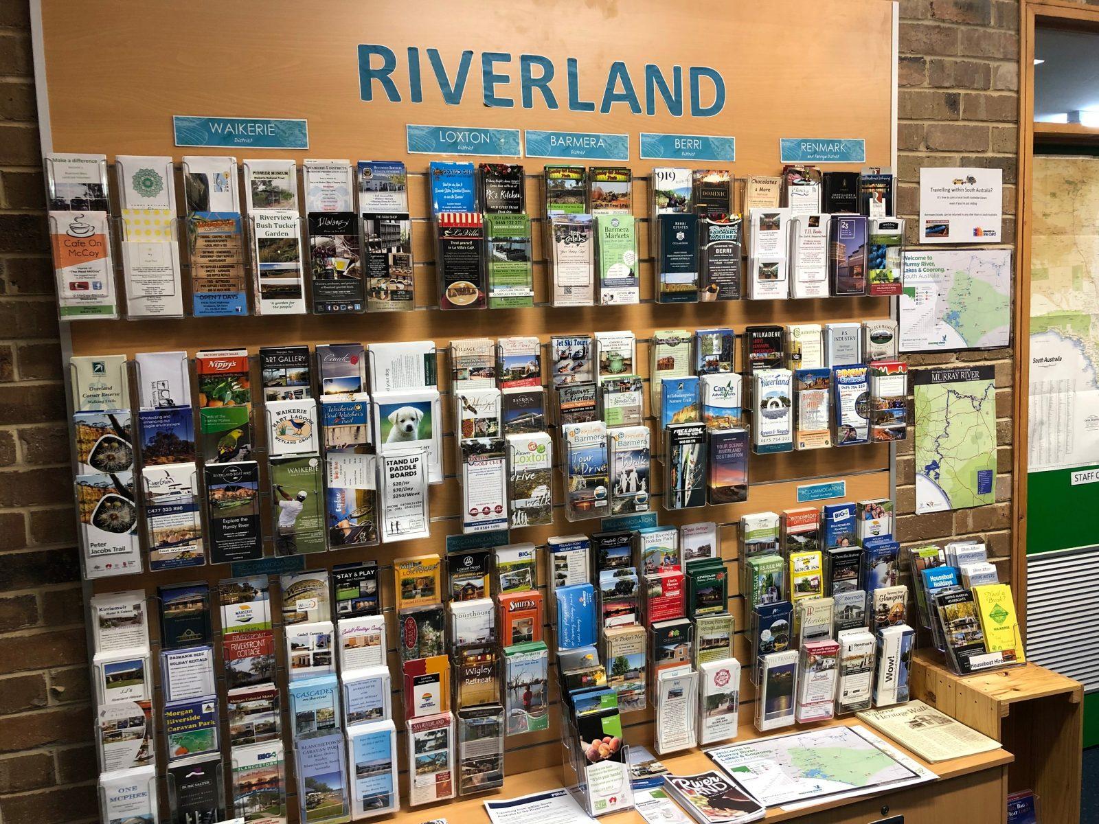 Riverland brochures