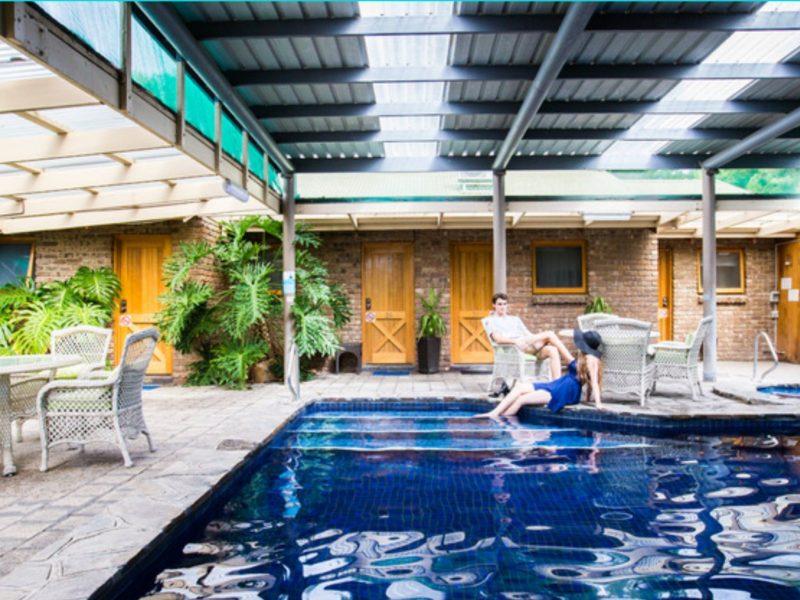 Haus-Swimming-Pool