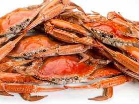 Cooked Wallaroo Blue Crabs