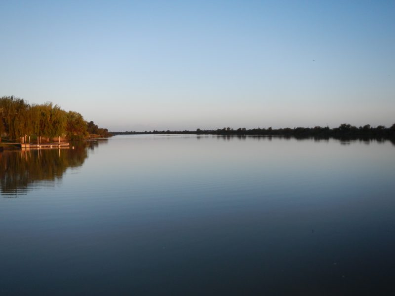 Murray River view from private jetty