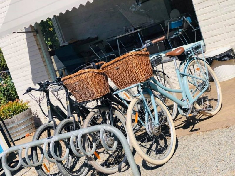 Ride the riesling trail and stop for coffee and cake