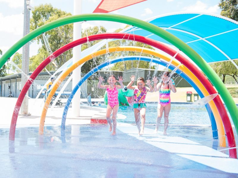 Waterworld splash pad