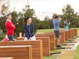 Driving Range in action